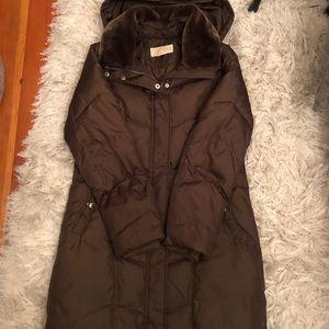 michael kors down jacket removeable hood LIKE NEW